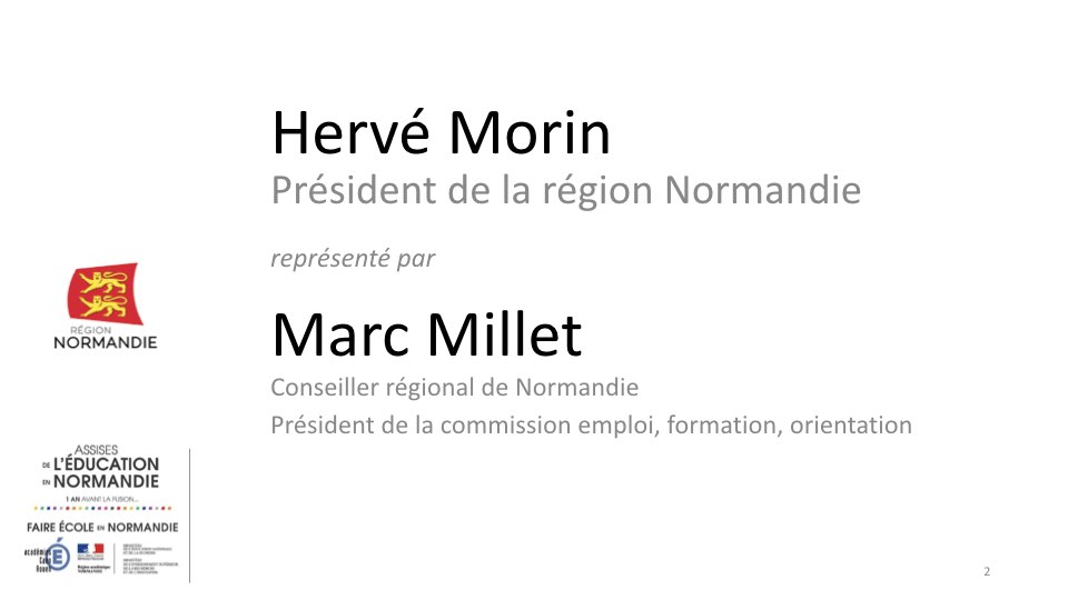 Intervention de Marc Millet