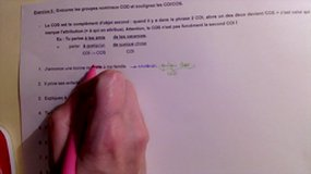 Explications/correction ex 6 - COD, COI