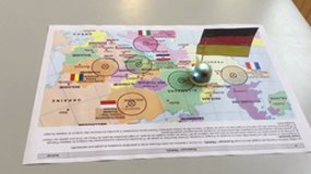 One ozobot goes to Germany.