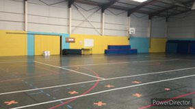 The gym at Octave Mirbeau School