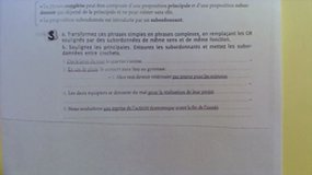 Explications/correction ex3 - phrase complexe